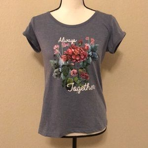 Tops - Always Together Floral Tee